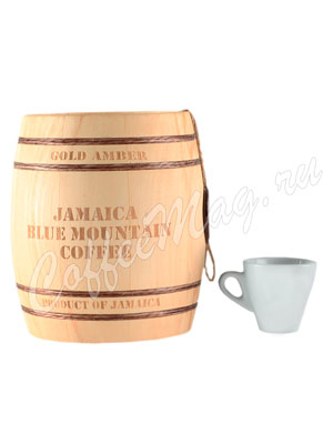 Кофе Jamaica Blue Mountain (Ямайка Блю Маунтин) в зернах бочонок 150 г