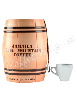 Кофе Jamaica Blue Mountain (Ямайка Блю Маунтин) в зернах бочонок 200 г