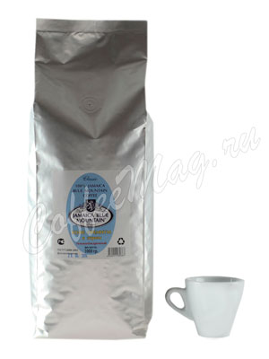 Кофе Jamaica Blue Mountain в зернах темной обжарки 1 кг