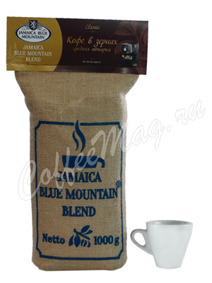 Кофе Jamaica Blue Mountain Blend в зернах 1 кг