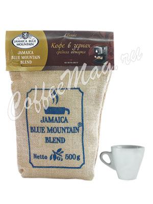 Кофе Jamaica Blue Mountain Blend в зернах 500 гр