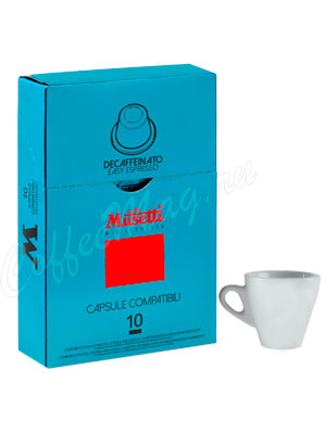 Кофе Musetti в капсулах Decaffeinated (системы NESPRESSO)