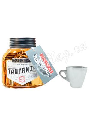 Кофе Сafe Creme растворимый Tanzania 100г