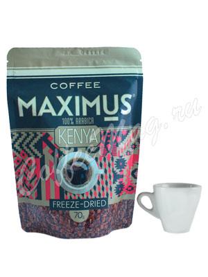 Кофе Maximus Растворимый Kenya 70 гр (Мягкая упаковка)