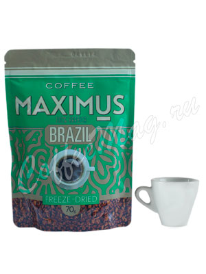 Кофе Maximus Растворимый Brazil 70 гр (Мягкая упаковка)