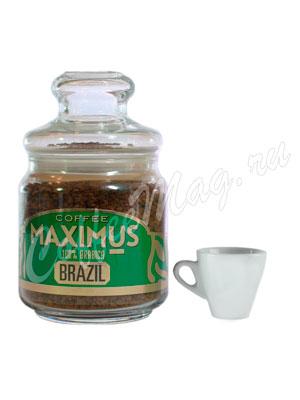 Кофе Maximus Растворимый Brazil 100 гр (Банка)