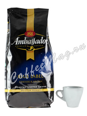 Кофе Ambassador в зернах Blue Label 500 гр