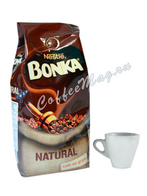 Кофе Bonka в зернах Natural 500 гр