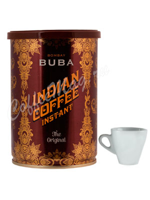 Кофе Buba Indian Coffee растворимый порошкообразный 95 гр (ж.б.)