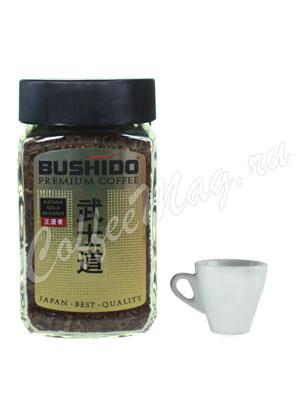 Кофе Bushido растворимый 24 Karat Gold 100 гр (ст.б.)