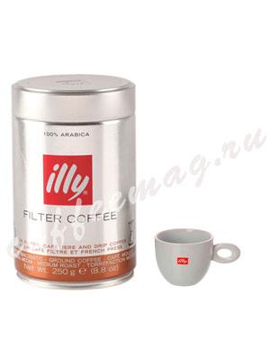 Кофе Illy молотый Filter Coffee Medium (средняя обжарка)