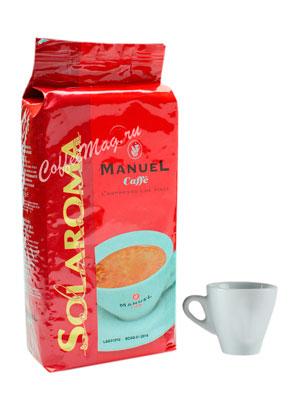 Кофе Manuel Solaroma в зернах  1 кг