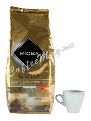 Кофе Rioba молотый Gold 1 кг