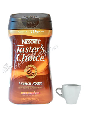 Кофе Taster Choice растворимый French Roast 198 гр
