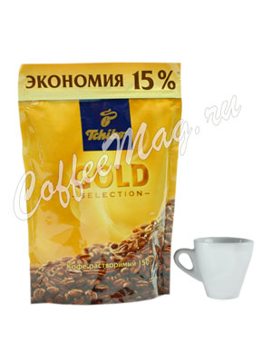Кофе Tchibo растворимый Gold Selection 150 гр