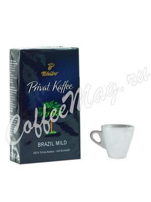 Кофе Tchibo молотый Privat Brazil Mild 250 гр