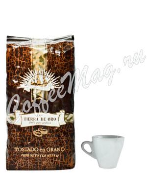 Кофе Tierra De Oro  в зернах 454 гр