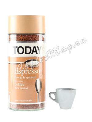 Кофе Today растворимый Espresso 190 гр (ст.б.)
