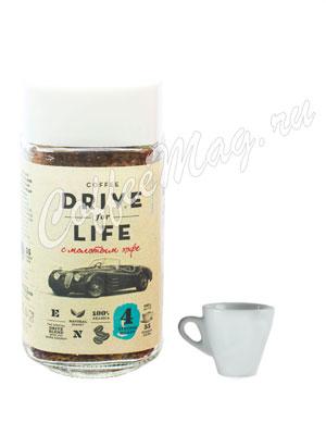Живой кофе растворимый Drive For Life 100 гр ст.б.