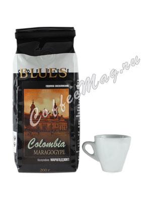 Кофе Colombia Maragogype в зернах 200 гр