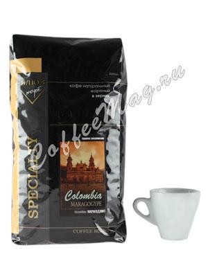 Кофе Блюз Colombia Maragogype в зернах 1 кг