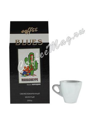 Кофе Blues молотый Mexico Maragogype 200 гр