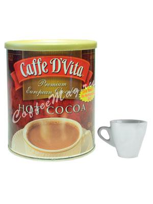 Горячий шоколад Caffe D`Vita Hot Cocoa, 454 гр ж.б.