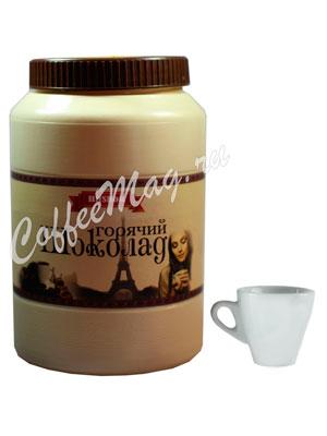 Горячий шоколад Hitshok Премиум молочный 1 кг, банка