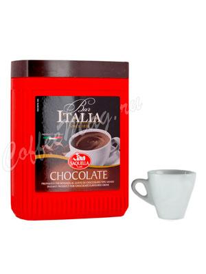 Горячий шоколад Saquella 400 гр банка