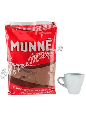 Какао микс Munne быстрорастворимый с шоколадным вкусом, пакет 453,6 г