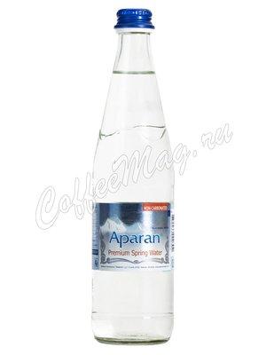 Aparan Вода негазированная, стекло 0,5 л