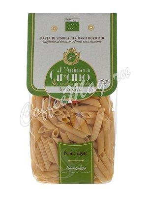 Макаронные изделия LAnima di Grano Penne Rigate Bio 500 г