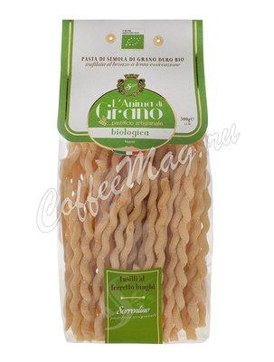Макаронные изделия LAnima di Grano Fusilli Al Ferr Lunghi Bio 500 г