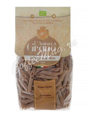 Макаронные изделия LAnima di Grano Penne Rigate Integrali Bio 500 г
