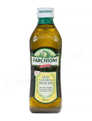 Масло оливковое Farchioni Olio Leggeroamp & Delicato 500 мл