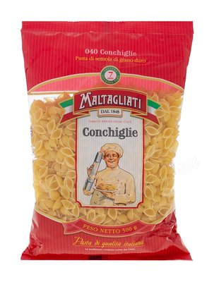 Макаронные изделия Maltagliati №040 Conchiglie (Ракушки) 500 г