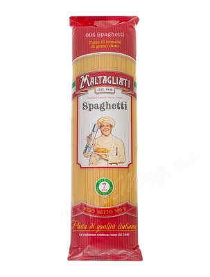 Макаронные изделия Maltagliati №004 Spaghetti (Спагетти) 500 г