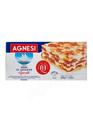 Макаронные изделия Agnesi №087 Лазанья (Le Lasagne) 500 г