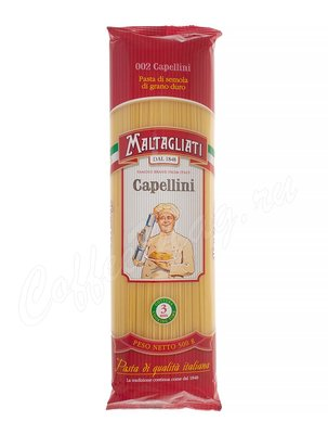 Макаронные изделия Maltagliati  №002 Spaghetti Capellini (Спагетти Капеллини) 500 г