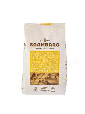 Макаронные изделия Sgambaro Penne Rigate №91 500 г