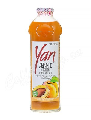 YAN Абрикосовый сок с добавлением яблочного сока 930 мл