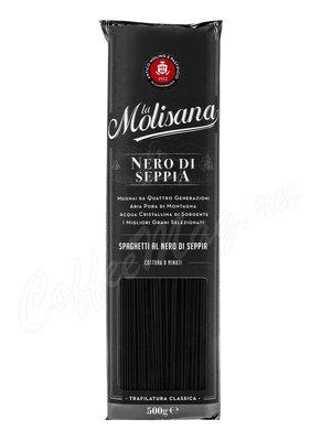Макаронные изделия La Molisana Spaghetti (Спагетти) с чернилами каракатицы 500 г