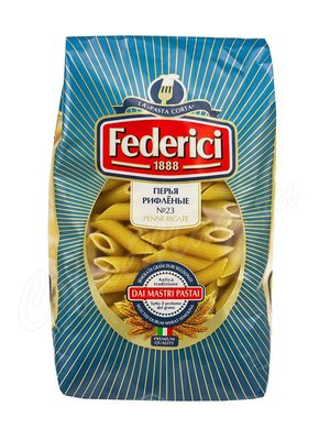 Макаронные изделия Federici №023 Penne Rigate Перья рифленые 500 г