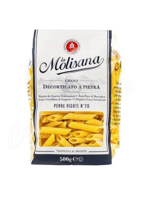 Макаронные изделия La Molisana Penne Ziti Rigate №20 Перья рифленые 500 г