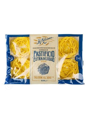 Макаронные изделия La Molisana Taglierini №202 Лапша яичная в гнездах 250 г