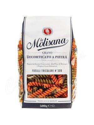 Макаронные изделия La Molisana Fusilli №309 с добавлением томатов и шпината 500 г