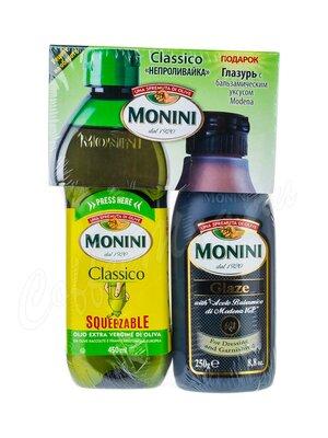 Monini Classico Набор масло оливковое 450 мл и бальзамический соус