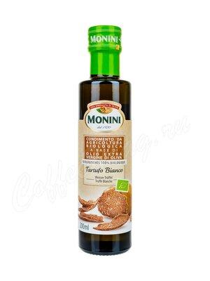 Monini BIO White truffle Масло оливковое нерафинированное высшего качества  200 мл