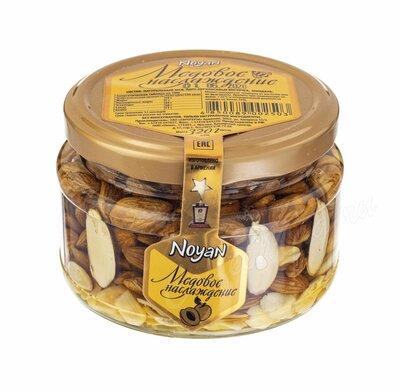 Ноян Абрикосовые косточки с миндалем в меде 320 г