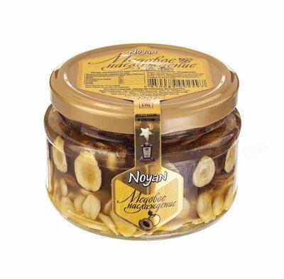 Ноян Абрикосовые косточки с лесным орехом в меде 320 г